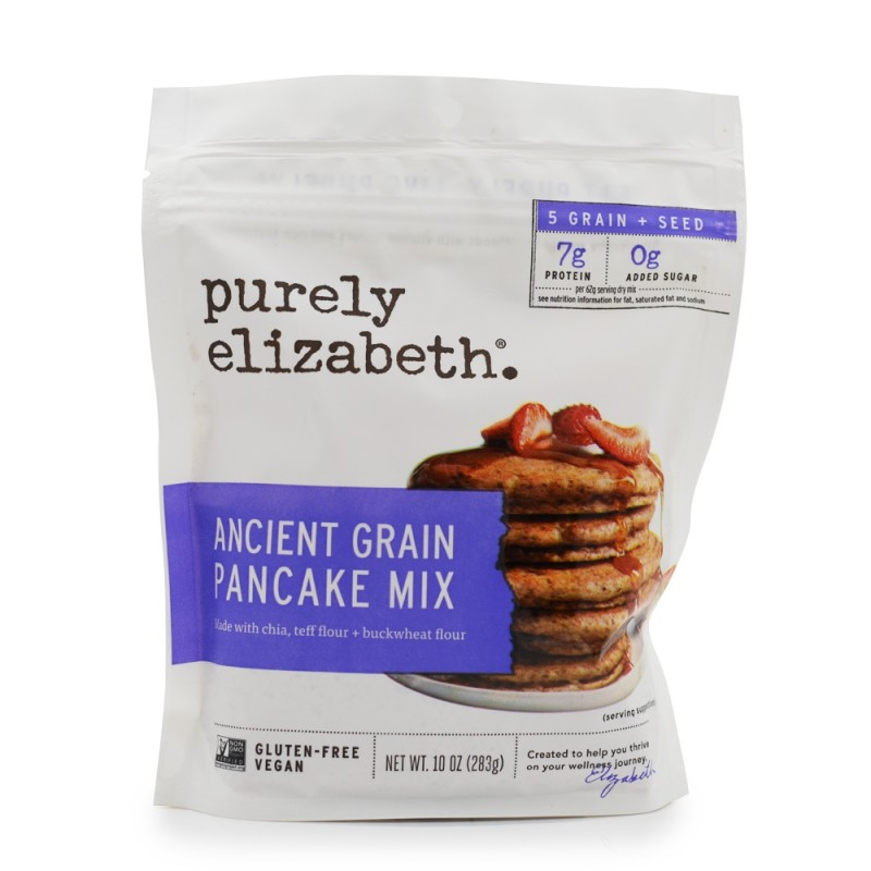 "美國無麩質穀物班戟粉""purely elizabeth""GLUTEN FREE ANCIENT GRAIN PANCAKE MIX"
