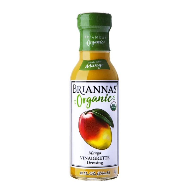 "美國有機芒果香醋汁""Briannas""ORGANIC MANGO VINAIGRETTE DRESSING"