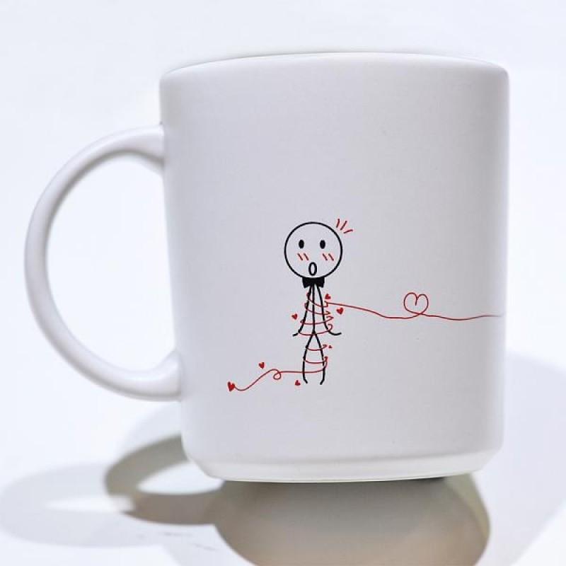 "Human Touch - Boy Meets Girl ""Happy Bride"" Mug (3HTT04-115) 1pc only"