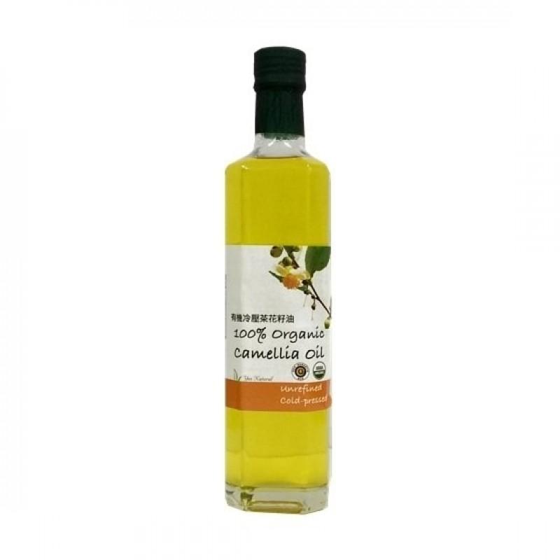 有機冷壓茶花籽油 (苦茶油) Yes Natural 100% Organic Camellia Oil
