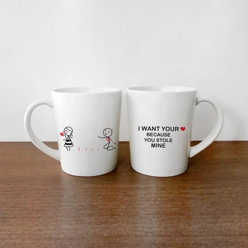 """Human Touch - Boy Meets Girl """"Steal My Heart"""" Mug (3HTT04-149) 1pc only"""