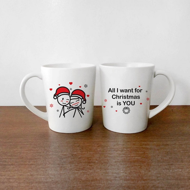 """Human Touch - Boy Meets Girl """"X'mas with you"""" Mug (3HTT04-155) 1pc only"""