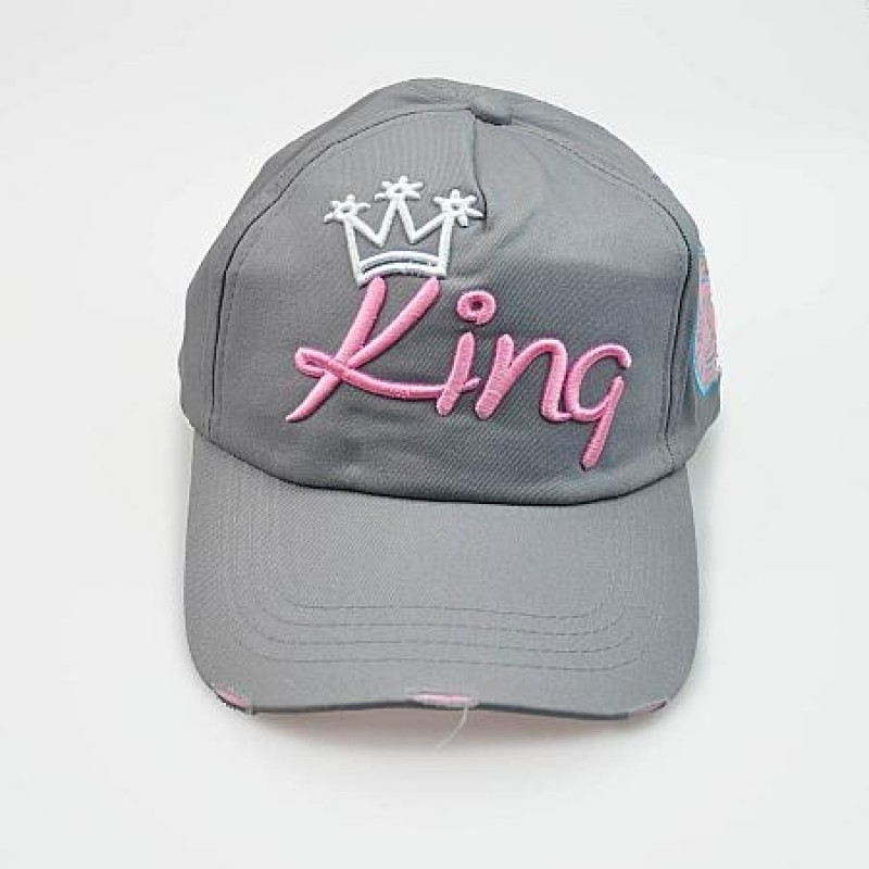 "Together ""King"" Cap (3604GY)"