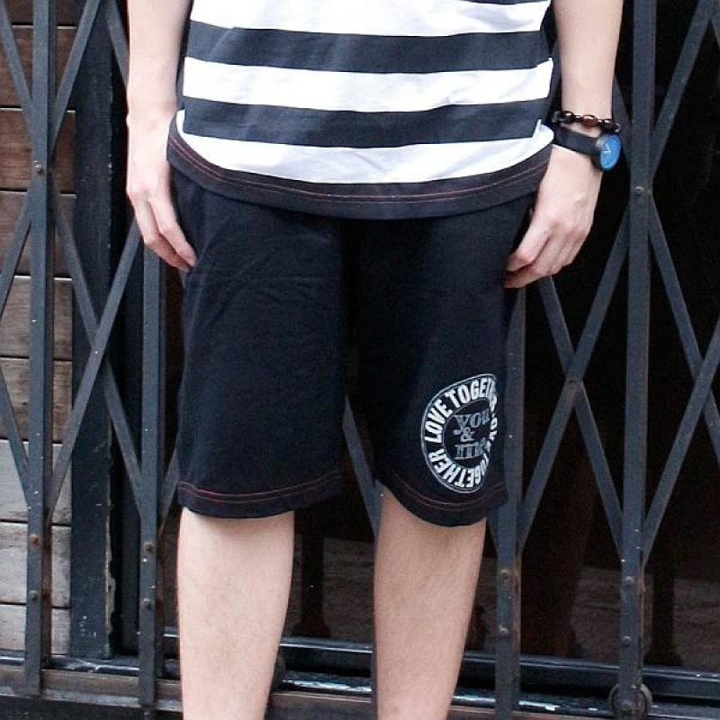 Together Cotton Black Male Shorts (6121MBK)