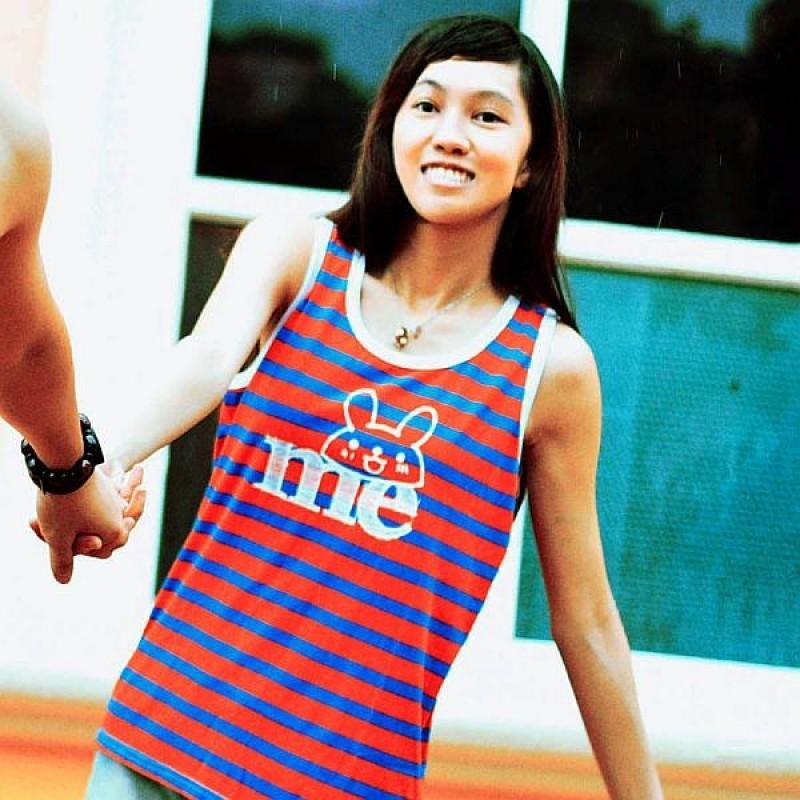 """Together """"Me"""" Red WITH Blue STRIP Female Vest (2216FR)"""