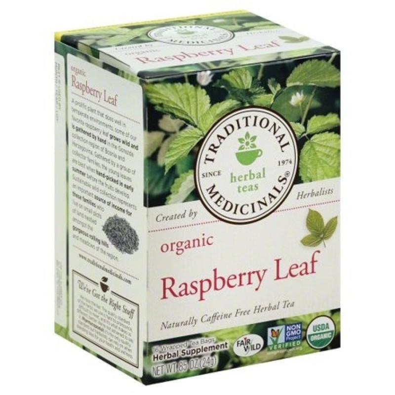 "美國有機覆盆子葉草本茶 ""Traditional Medicinals"" Organic Raspberry Leaf Herbal Tea"