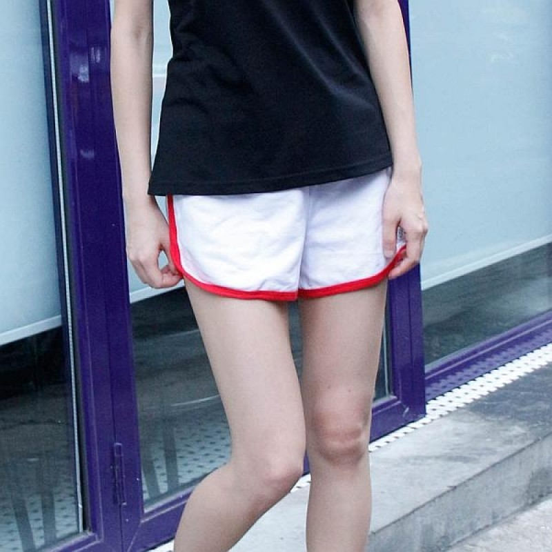 Together Cotton White Female Shorts (6122FW)