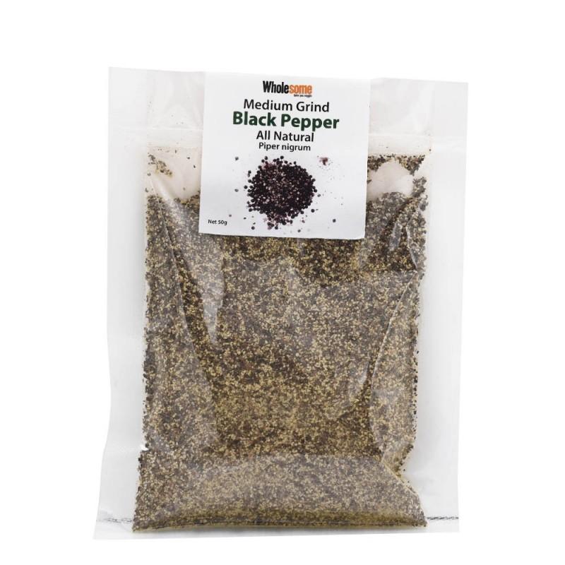 食養天然黑胡椒粉 Wholesome Natural Medium Grind Black Pepper