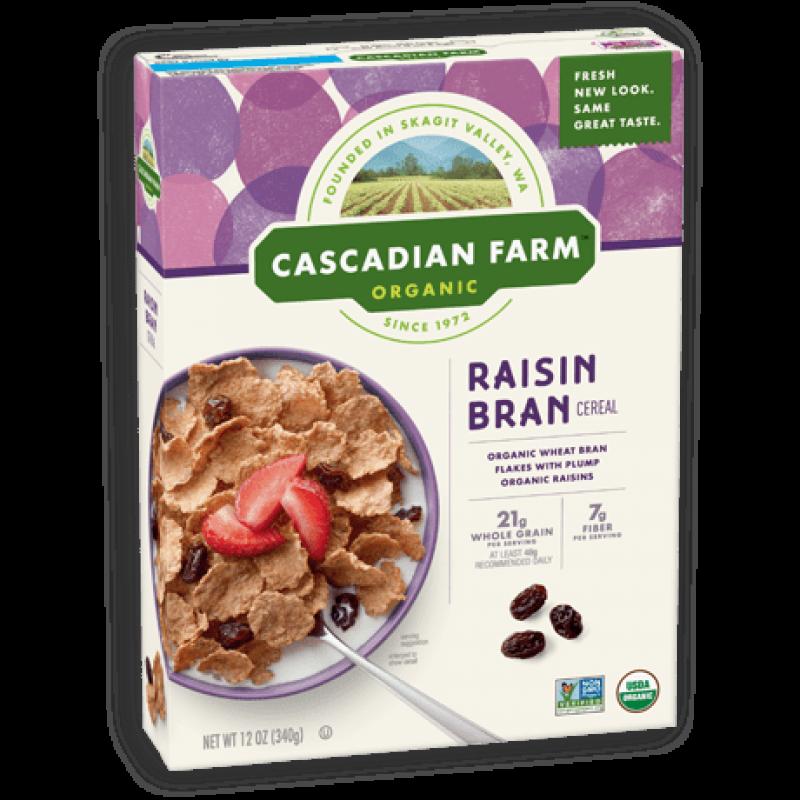 "美國有機提子乾穀物片 ""Cascadian Farm"" Organic RAISIN BRAN CEREAL"