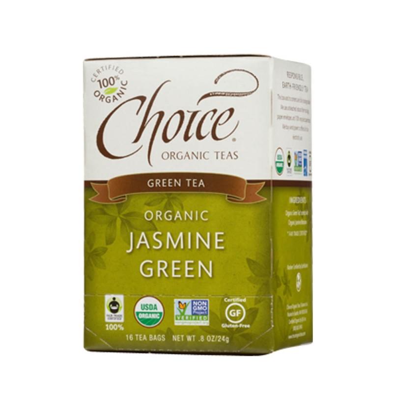 美國有機茉莉花茶 Choice Organic Jasmine Green Tea