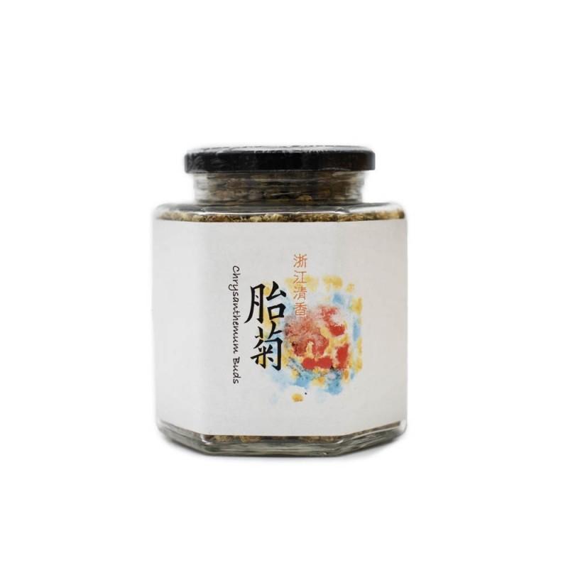 食養原色胎菊 (浙江) Wholesome Raw Chrysanthemum Buds (Zhejiang) 100G