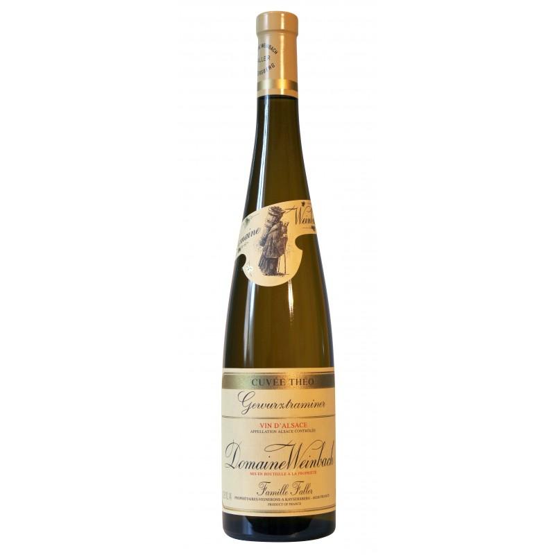 法國溫巴赫葡萄酒莊白葡萄酒 DOMAINE WEINBACH CUVÉE THÉO GEWURZTRAMINER 375ML
