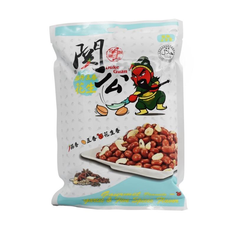 關公蒜片五香花生 Duke Guan Garlic Slice & Five Spice Peanuts