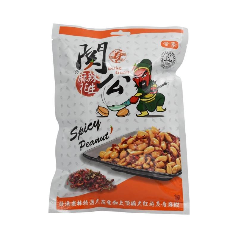關公麻辣花生 Duke Guan Spicy Peanuts