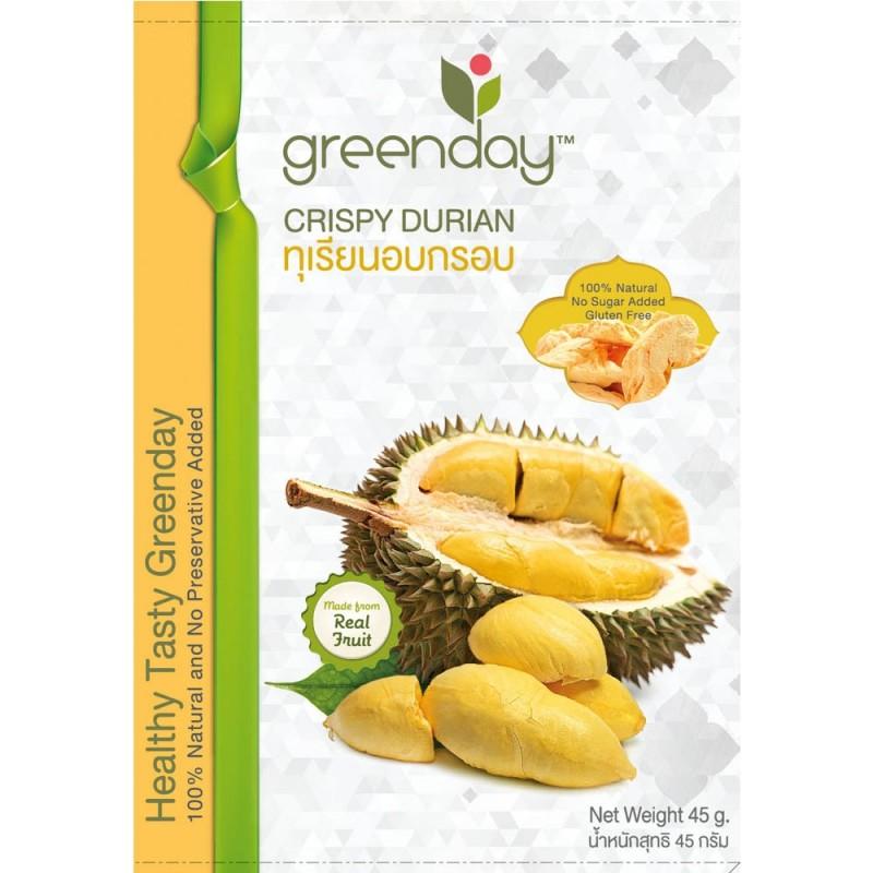 泰國香脆榴槤乾 Greenday Crispy Durian