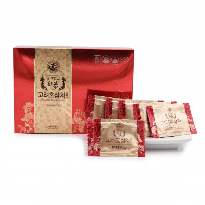 江開商人 - 韓國高麗黃金紅蔘茶 Kanggae Merchant - Korean Red Ginseng Tea Gold