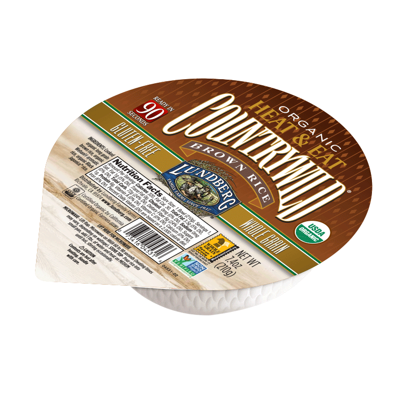"美國有機鄉村糙米飯""Lundberg""ORGANIC COUNTRYWILD BROWN RICE BOWL"