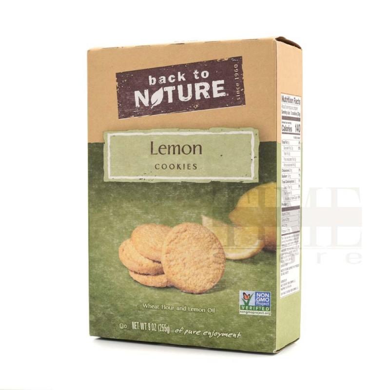 美國純素檸檬曲奇 Back to Nature Plant Based Snack - Lemon Cookies