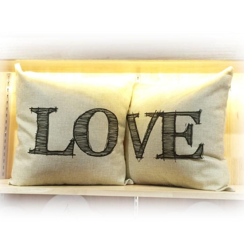"Together ""LOVE"" Cushion (302158 / 302159)"