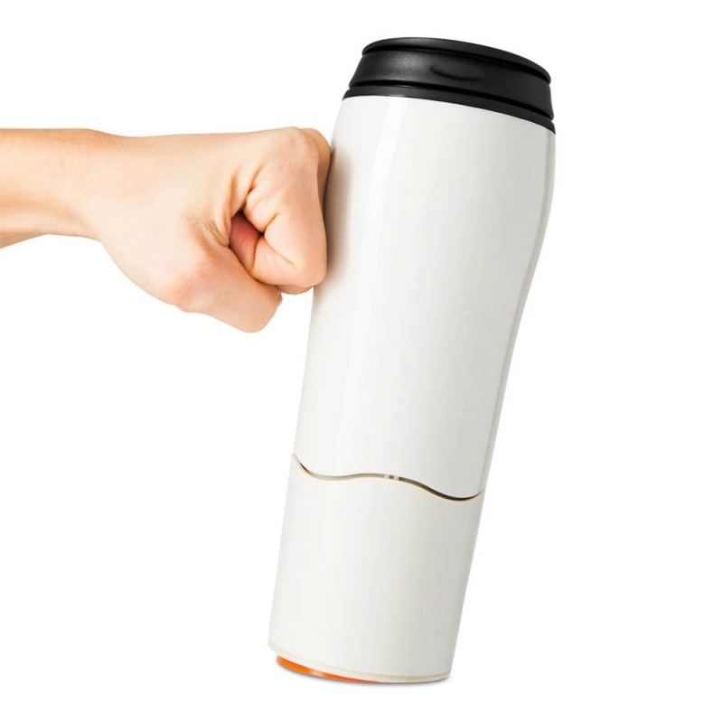 奶白色保溫神奇不倒杯 Mighty Mug - The Mug That Won't Fall (Go: Cream) 16oz