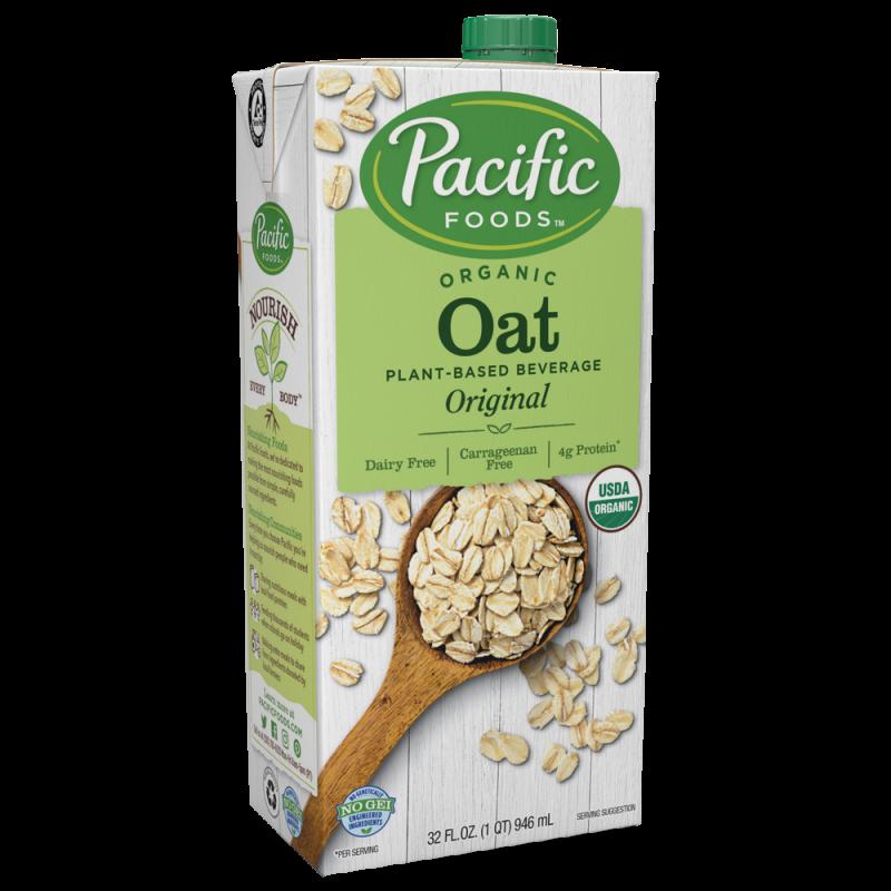 美國有機燕麥原味植物奶 Pacific Foods Organic Oat Original Plant-based Beverage