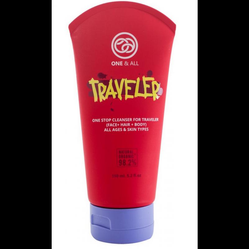 泰國旅遊型 - 有機三合一(面髮身)深層清潔乳液 ONE & ALL - ORGANIC ONE STOP CLEANSER FOR TRAVELER (FACE+HAIR+BODY) 150ML