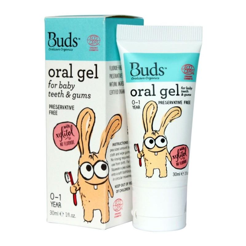 芽芽有機嬰兒潔齒牙齦啫喱 0-1歲 BUDS ORGANICS Oral Gel for Baby teeth & gums 0-1 YR OLD