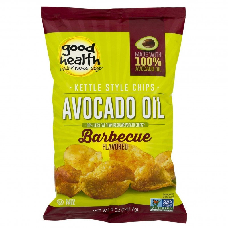 "美國牛油果油燒烤味薯片""Good Health"" KETTLE STYLE POTATO CHIPS AVOCADO OIL BARBECUE FLAVORED"
