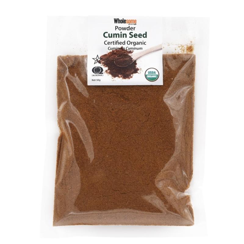 食養有機孜然粉 WHOLESOME Organic Cumin Seed Powder