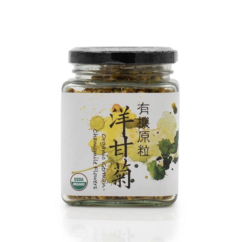 食養有機原粒洋甘菊 Wholesome Organic Raw Chamomile Tea 25G