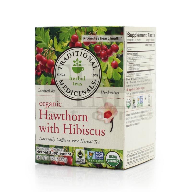 """美國有機山楂洛神花草本茶 """"Traditional Medicinals"""" Organic Hawthorn with Hibiscus Herbal Tea"""