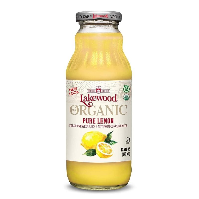 "美國有機純檸檬汁""Lakewood Organic"" ORGANIC PURE FRESH LEMON JUICE"