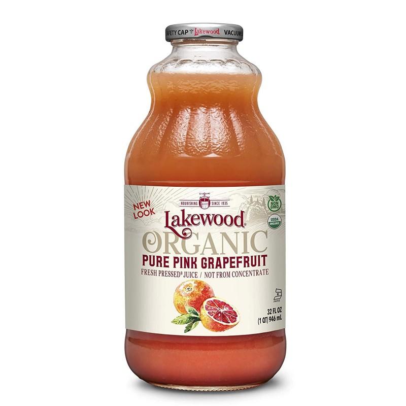 """美國有機純紅西柚汁""""Lakewood Organic"""" ORGANIC PURE FRESH PINK GRAPEFRUIT JUICE"""