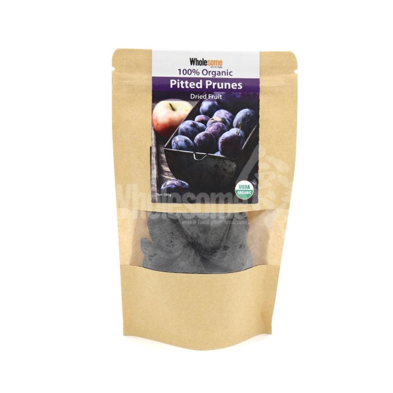 食養有機無核西梅 WHOLESOME ORGANIC Pitted Prunes 100g
