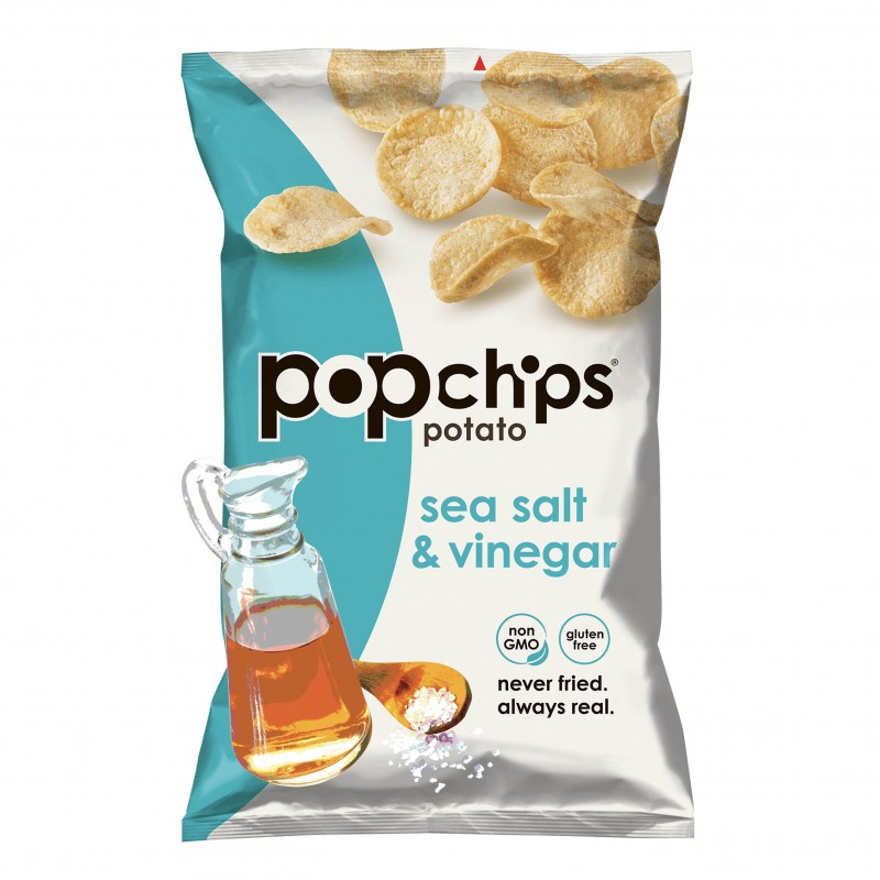 "美國無麩質非油炸海鹽和醋薯片 ""POPCHIPS"" Gluten Free Sea Salt & Vinegar Potato Chips"