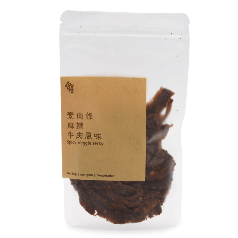 食養素肉條 (麻辣牛肉風味) Wholesome Spicy Veggie Jerky