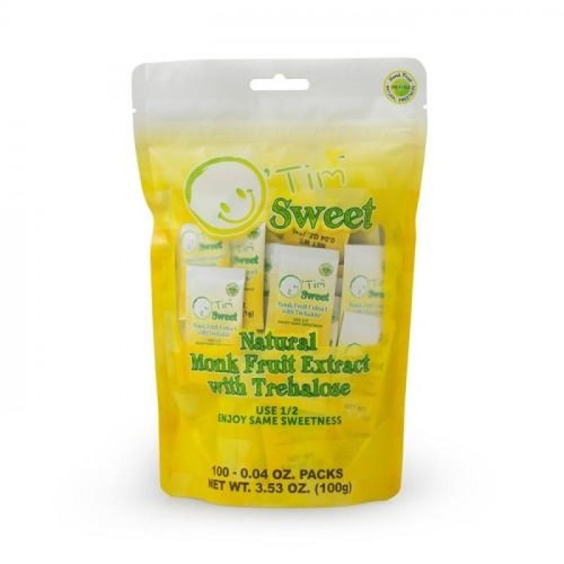 源甜天然甘露羅漢果海藻糖 O'Tim Sweet Natural Monk Fruit Extract with Trehalose 100G