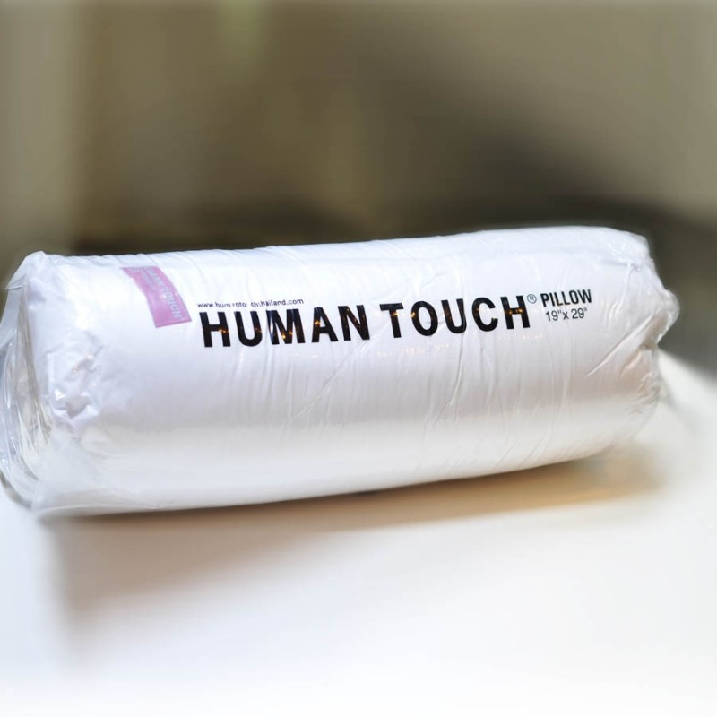 "Human Touch Short Pillow 全棉枕頭 19""x29"" (T01-CU)"