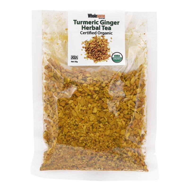 食養有機薑黃 (薑草本茶) WHOLESOME ORGANIC TURMERIC GINGER HERBAL TEA
