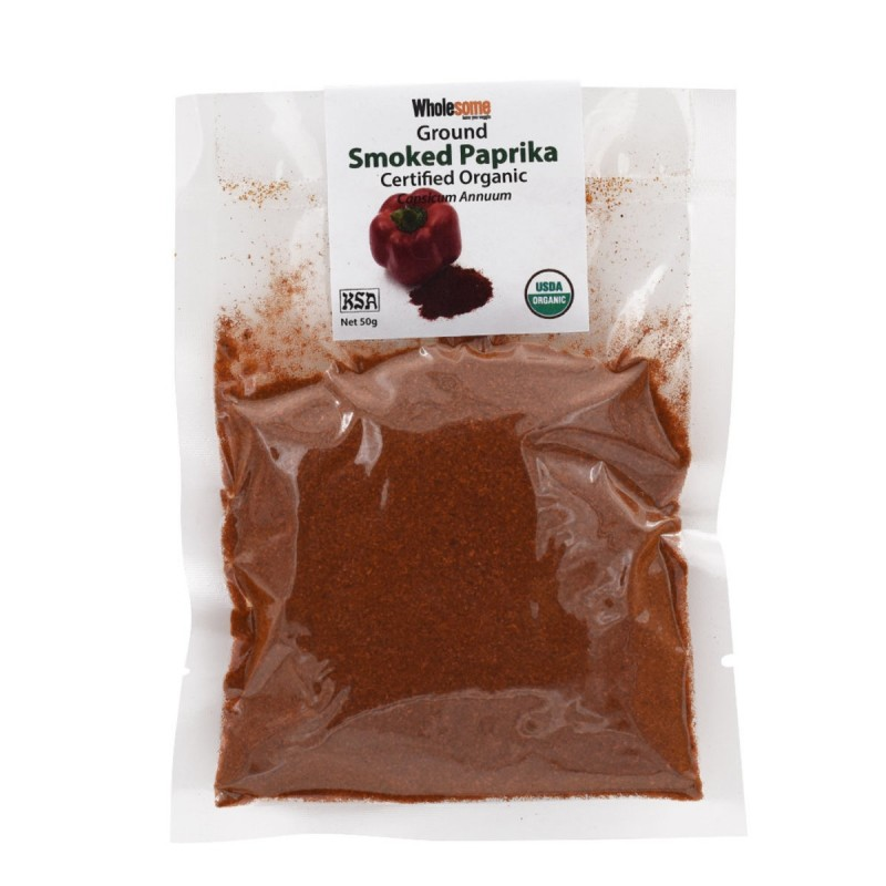 食養有機煙燻紅椒粉 Wholesome Organic Ground Smoked Paprika (Capsicum Annuum)