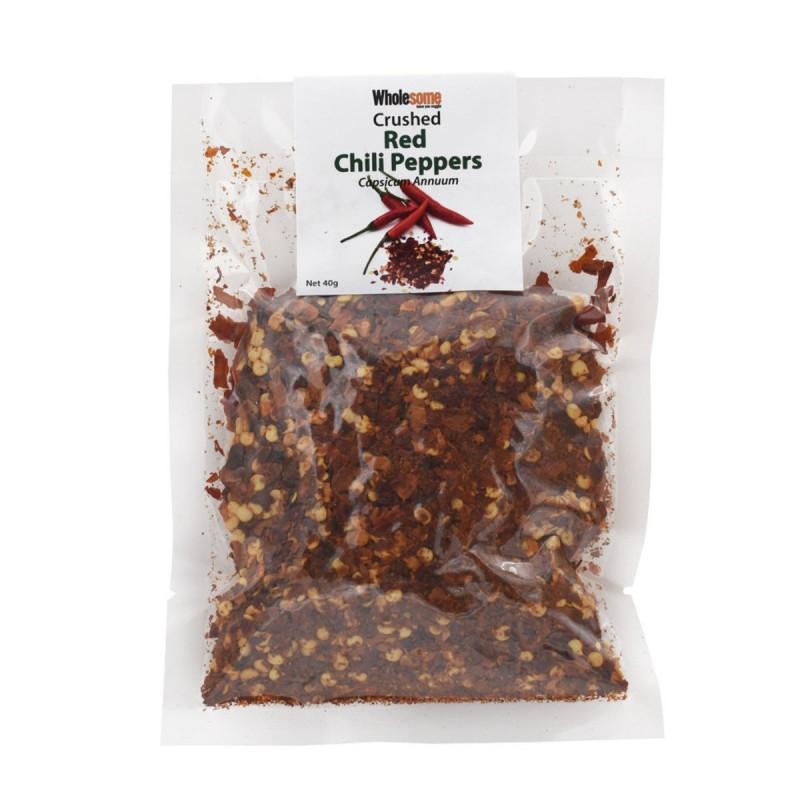 食養碎紅辣椒粉 Wholesome Crushed Red Chili Peppers (Capsicum Annuum)