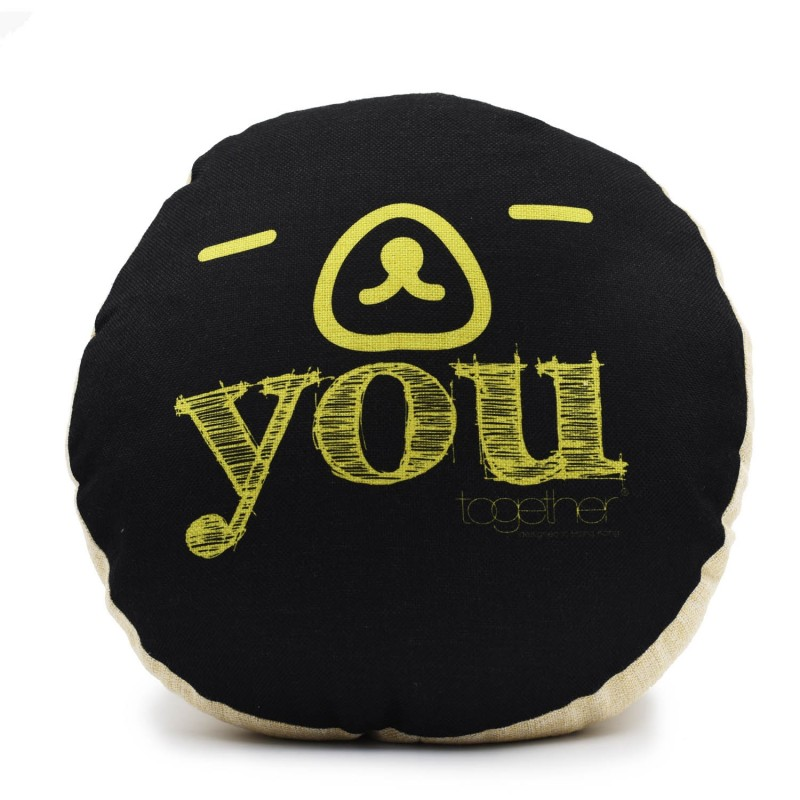 "Together ""You"" Circle Cushion (302298BK) 1件"