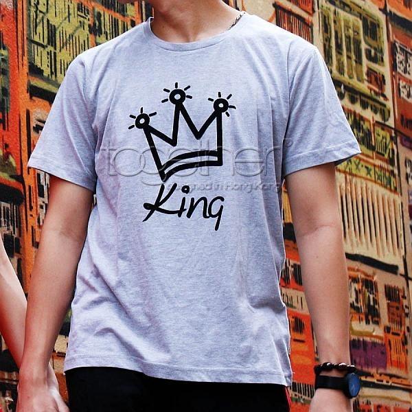 "Together ""King"" Tee Shirt 男裝Tee恤 (2534M)"