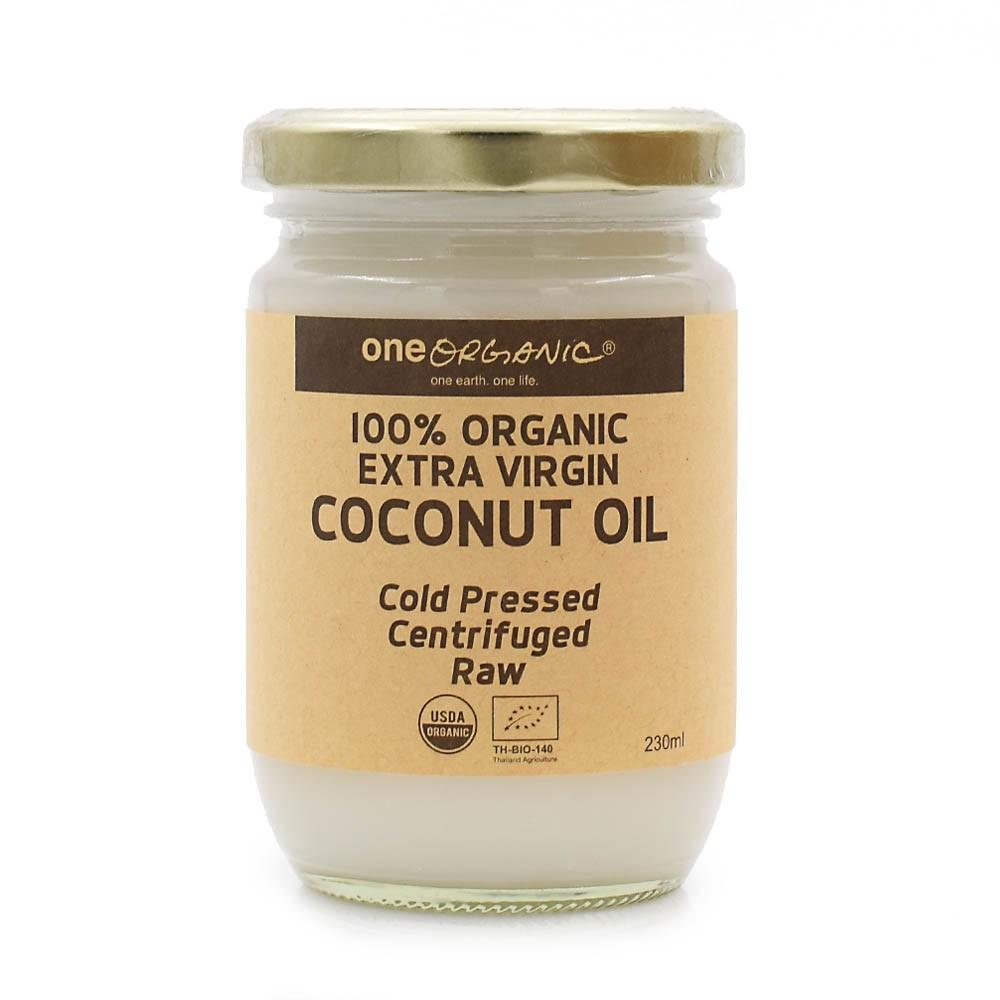 泰國有機特級初榨椰子油 One Organic 100% Organic Extra Virgin Coconut Oil 230ml