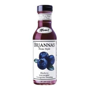 """美國藍莓香脂沙律醋""""Briannas""""HOME STYLE BLUBERRY BALSAMIC VINAIGRETTE DRESSING"""
