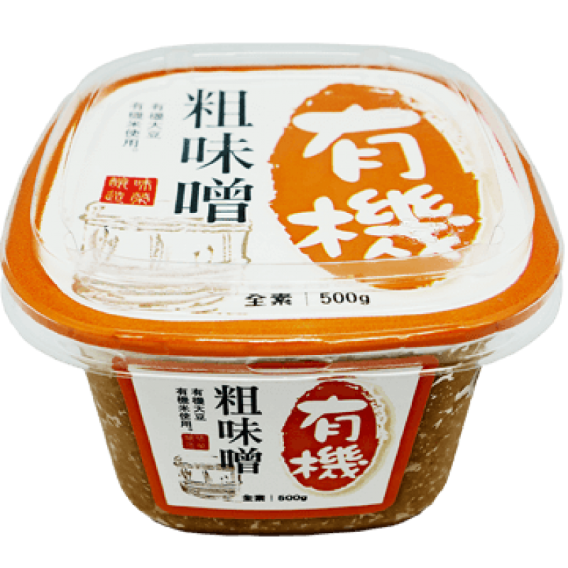 味榮有機粗味噌 SAUCE CO. Organic Miso (Grained)