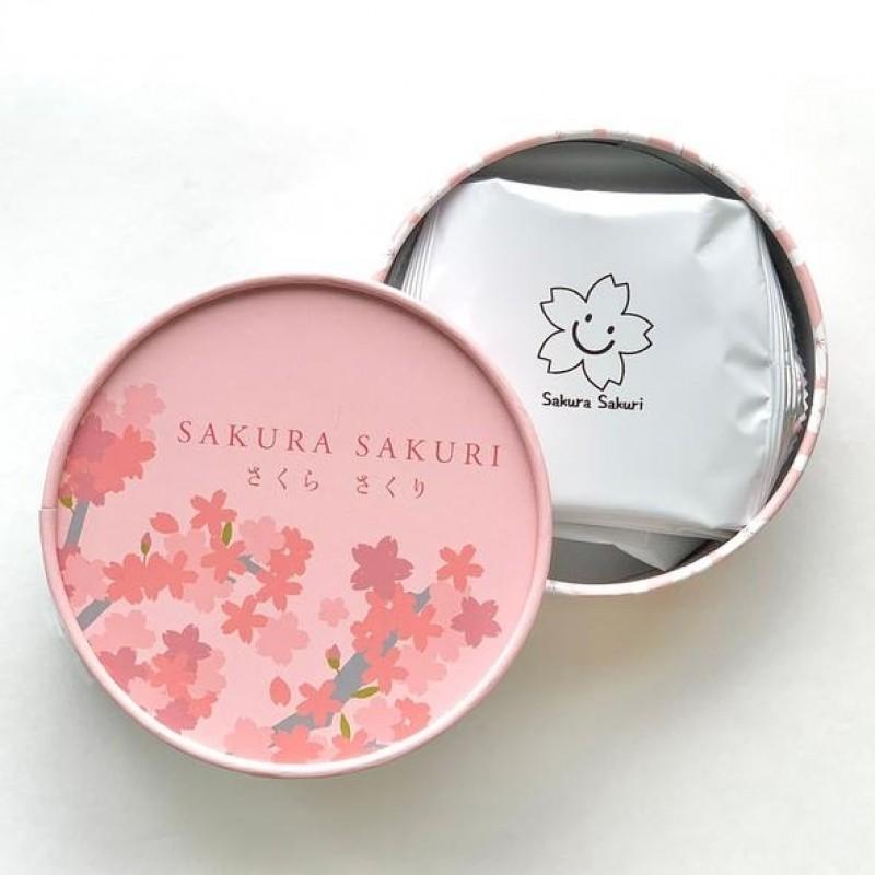 """日本盒裝抹茶夾心餅套裝 """"SAKURA SAKURI"""" MATCHA SANDWICH CRACKERS(BOX) SET"""