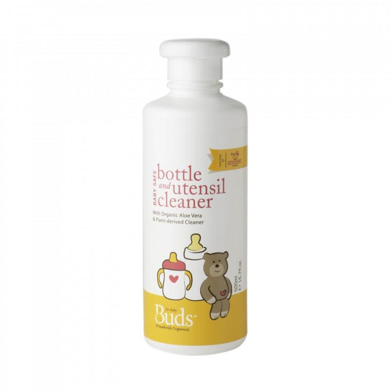 芽芽有機嬰孩奶瓶餐具清潔液 (浸泡用) BUDS ORGANICS FOR BABY Safe Bottle & Utensil Cleaner (For Soaking)