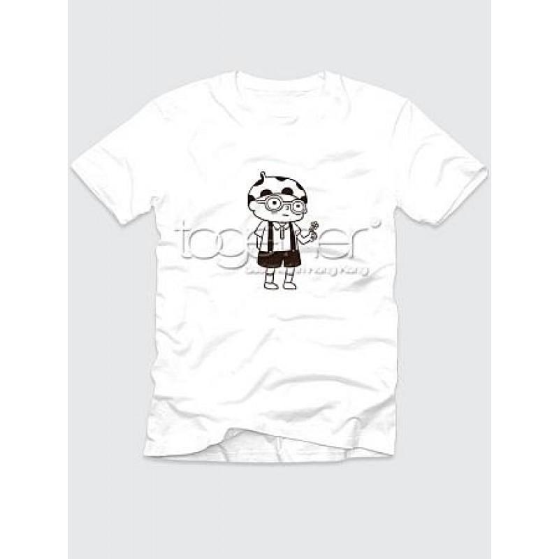 "Together ""Flower Gift"" Boy Tee Shirt (AG1001M)"