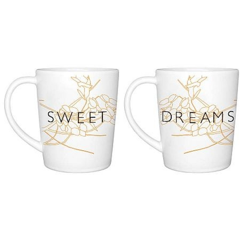 """Human Touch - Nature Touch """"Sweet Dreams"""" Set / 2 Mug (TT01-300) Package-set of 2 mugs"""